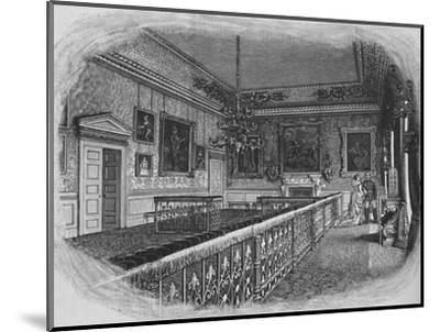 'Queen Anne's Room', 1886-Unknown-Mounted Giclee Print