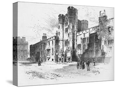 'St. James's Palace', 1886-Unknown-Stretched Canvas Print