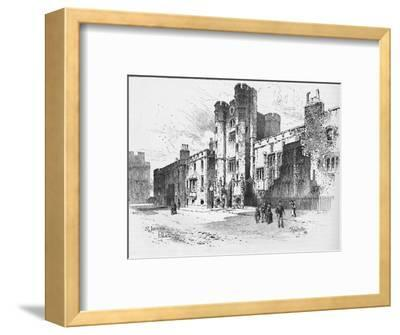 'St. James's Palace', 1886-Unknown-Framed Giclee Print