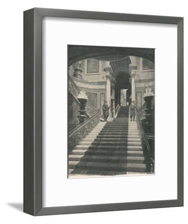 'Buckingham Palace: The Grand Staircase', 1886-Unknown-Framed Giclee Print