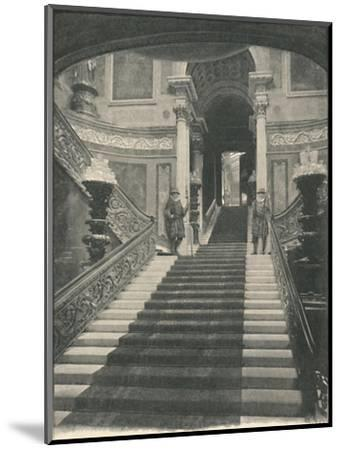 'Buckingham Palace: The Grand Staircase', 1886-Unknown-Mounted Giclee Print