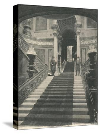 'Buckingham Palace: The Grand Staircase', 1886-Unknown-Stretched Canvas Print