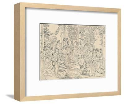 'Parnassus', 1886-Unknown-Framed Giclee Print
