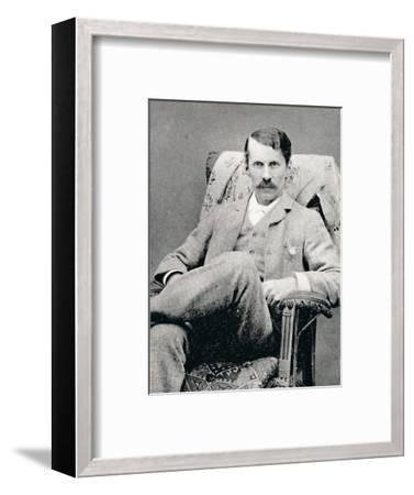 'Charles Burton Barber', 1880, (1896)-Unknown-Framed Photographic Print