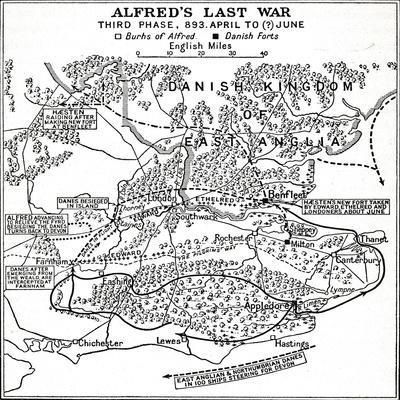 'Alfred's Last War - Third Phase, 893. April to (?) June', (1935)-Unknown-Framed Giclee Print