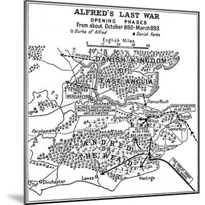'Alfred's Last War - Opening Phases. From about October 892-March 893', (1935)-Unknown-Mounted Giclee Print