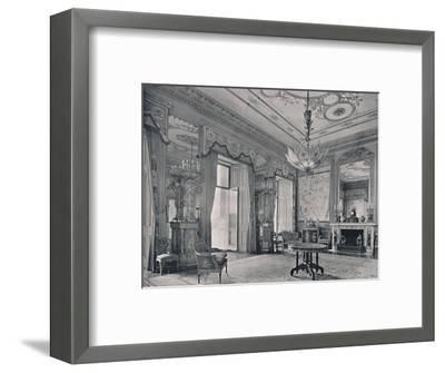 'The Centre Room, Buckingham Palace, South-East Corner', 1939-Unknown-Framed Photographic Print