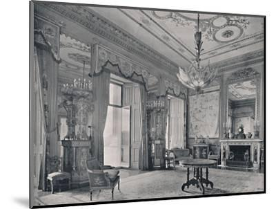 'The Centre Room, Buckingham Palace, South-East Corner', 1939-Unknown-Mounted Photographic Print
