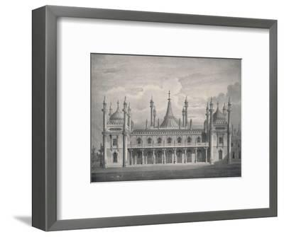 'The West Front', 1939-Unknown-Framed Giclee Print