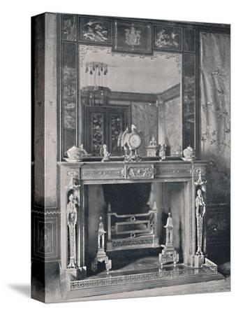 'Marble Mantelpiece', 1939-Unknown-Stretched Canvas Print
