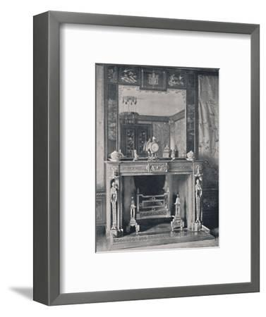 'Marble Mantelpiece', 1939-Unknown-Framed Photographic Print