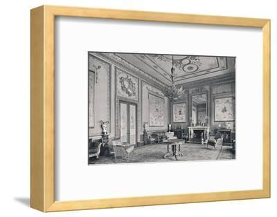 'The Centre Room, Buckingham Palace, North-West Corner', 1939-Unknown-Framed Photographic Print