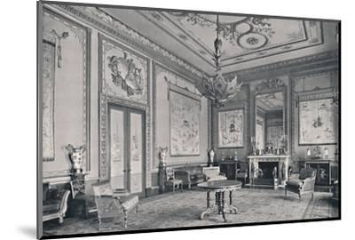 'The Centre Room, Buckingham Palace, North-West Corner', 1939-Unknown-Mounted Photographic Print