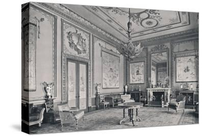 'The Centre Room, Buckingham Palace, North-West Corner', 1939-Unknown-Stretched Canvas Print