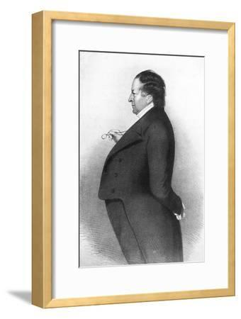 'Lewis Slight', c1830s, (1939)-Unknown-Framed Giclee Print