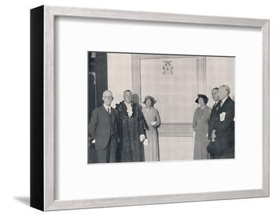 'After The Reopening of the Reconstructed Dome, 14th September 1935', (1939)-Unknown-Framed Photographic Print