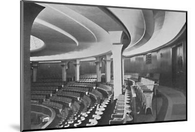 'The Dome: Interior After the Alterations - details of inner roof and panelling', 1939-Unknown-Mounted Photographic Print