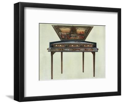 'Seventeenth century dulcimer from H. Boddington's collection', 1948-Unknown-Framed Giclee Print