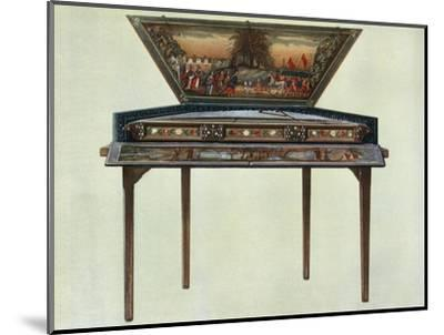 'Seventeenth century dulcimer from H. Boddington's collection', 1948-Unknown-Mounted Giclee Print
