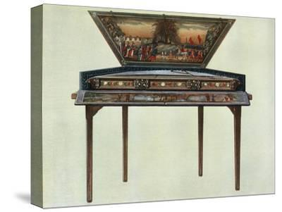 'Seventeenth century dulcimer from H. Boddington's collection', 1948-Unknown-Stretched Canvas Print