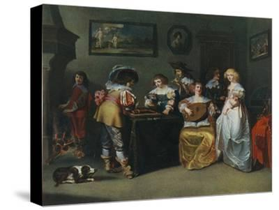 'Lute; unknown painter of the seventeenth century', 1948-Unknown-Stretched Canvas Print