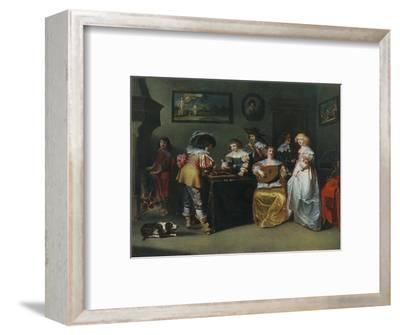 'Lute; unknown painter of the seventeenth century', 1948-Unknown-Framed Giclee Print