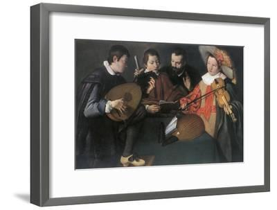 'Lutes and violin; unknown Italian painter of the seventeenth century', 1948-Unknown-Framed Giclee Print