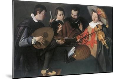 'Lutes and violin; unknown Italian painter of the seventeenth century', 1948-Unknown-Mounted Giclee Print