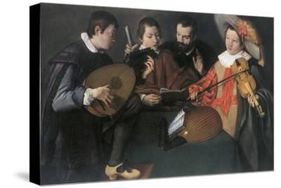 'Lutes and violin; unknown Italian painter of the seventeenth century', 1948-Unknown-Stretched Canvas Print