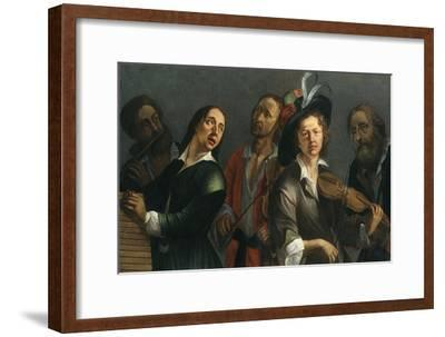 Transverse flute, xylophone, viola and violin-Unknown-Framed Giclee Print