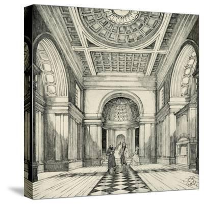 'Interior of Ayot St. Lawrence Church, Hertfordshire', (1938)-Unknown-Stretched Canvas Print