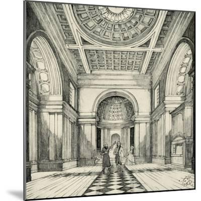 'Interior of Ayot St. Lawrence Church, Hertfordshire', (1938)-Unknown-Mounted Giclee Print