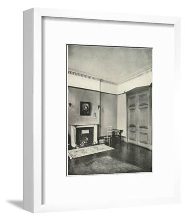 'Contrasted Interiors: Regency - Mecklenburgh Square, Bloomsbury', (1938)-Unknown-Framed Giclee Print