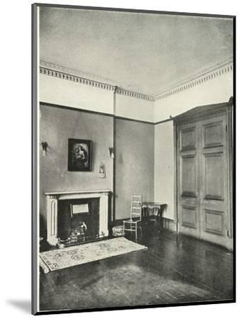 'Contrasted Interiors: Regency - Mecklenburgh Square, Bloomsbury', (1938)-Unknown-Mounted Giclee Print