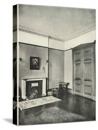 'Contrasted Interiors: Regency - Mecklenburgh Square, Bloomsbury', (1938)-Unknown-Stretched Canvas Print