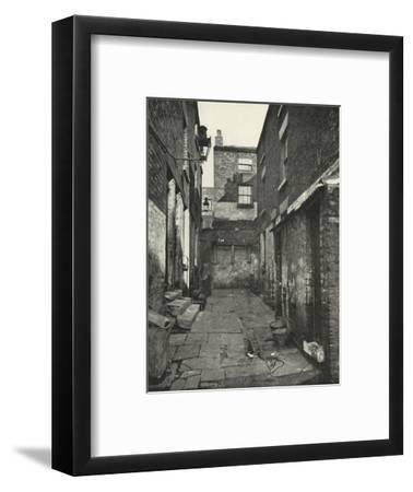 'Back-to-Back Houses in the North of England', (1938)-Unknown-Framed Giclee Print