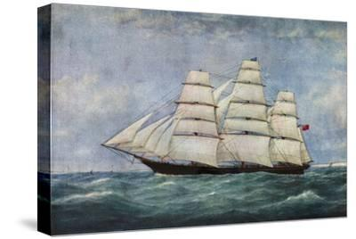 'The Tea Clipper Spindrift', (1938)-Unknown-Stretched Canvas Print
