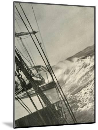 'Mountainous Seas', c1908, (1909)-Unknown-Mounted Photographic Print