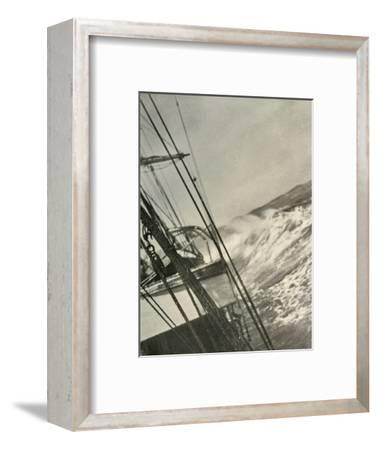 'Mountainous Seas', c1908, (1909)-Unknown-Framed Photographic Print