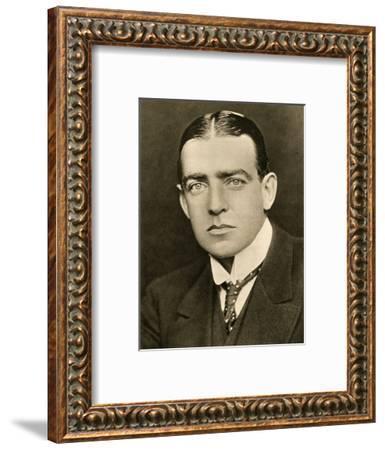 'Portrait of E. H. Shackleton', c1905, (1909)-George Charles Beresford-Framed Photographic Print