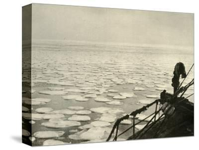 'Pancake Ice in the Ross Sea', c1908, (1909)-Unknown-Stretched Canvas Print
