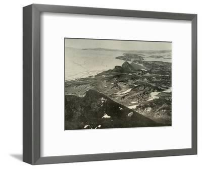 'Looking North Towards Cape Royds', c1908, (1909)-Unknown-Framed Photographic Print