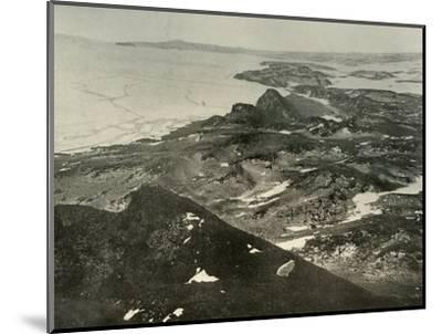 'Looking North Towards Cape Royds', c1908, (1909)-Unknown-Mounted Photographic Print