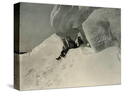 'A Snow Cornice', c1908, (1909)-Unknown-Stretched Canvas Print