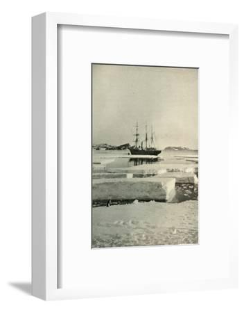 'The Landing-Place Wharf Broken Up', c1908, (1909)-Unknown-Framed Photographic Print