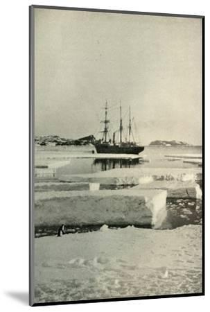 'The Landing-Place Wharf Broken Up', c1908, (1909)-Unknown-Mounted Photographic Print