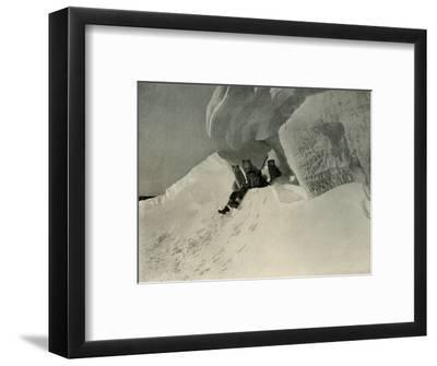 'A Snow Cornice', c1908, (1909)-Unknown-Framed Photographic Print