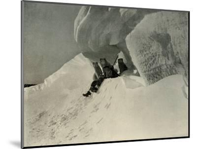'A Snow Cornice', c1908, (1909)-Unknown-Mounted Photographic Print