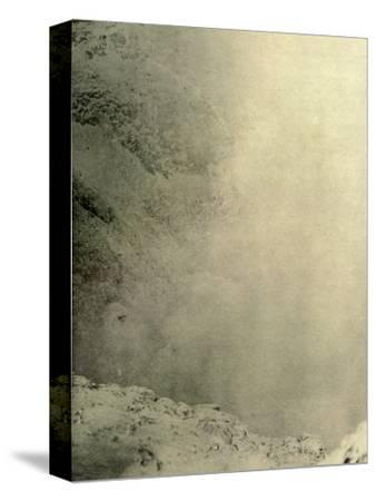 'Another View of the Crater of Erebus', 1908, (1909)-Unknown-Stretched Canvas Print