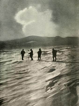 'One Thousand Feet Below The Active Cone', 1908, (1909)-Unknown-Framed Photographic Print